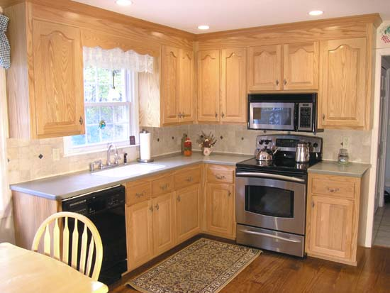 Refaced Cabinets (click images to enlarge)